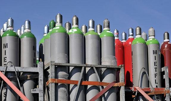 Gasflaschenbefüllungsanlagen