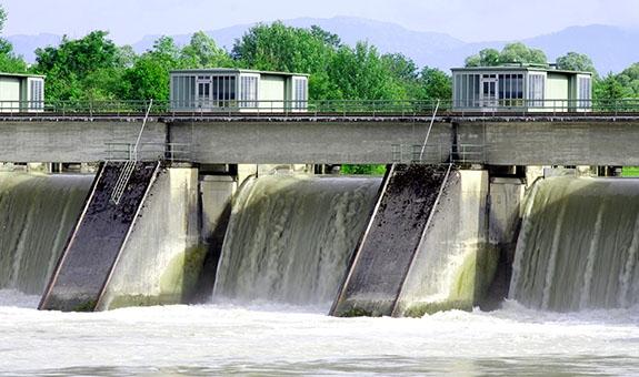 Stahlwasserbau - Rechenreiniger