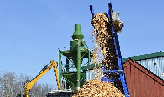 Holzindustrie - Förderanlagen